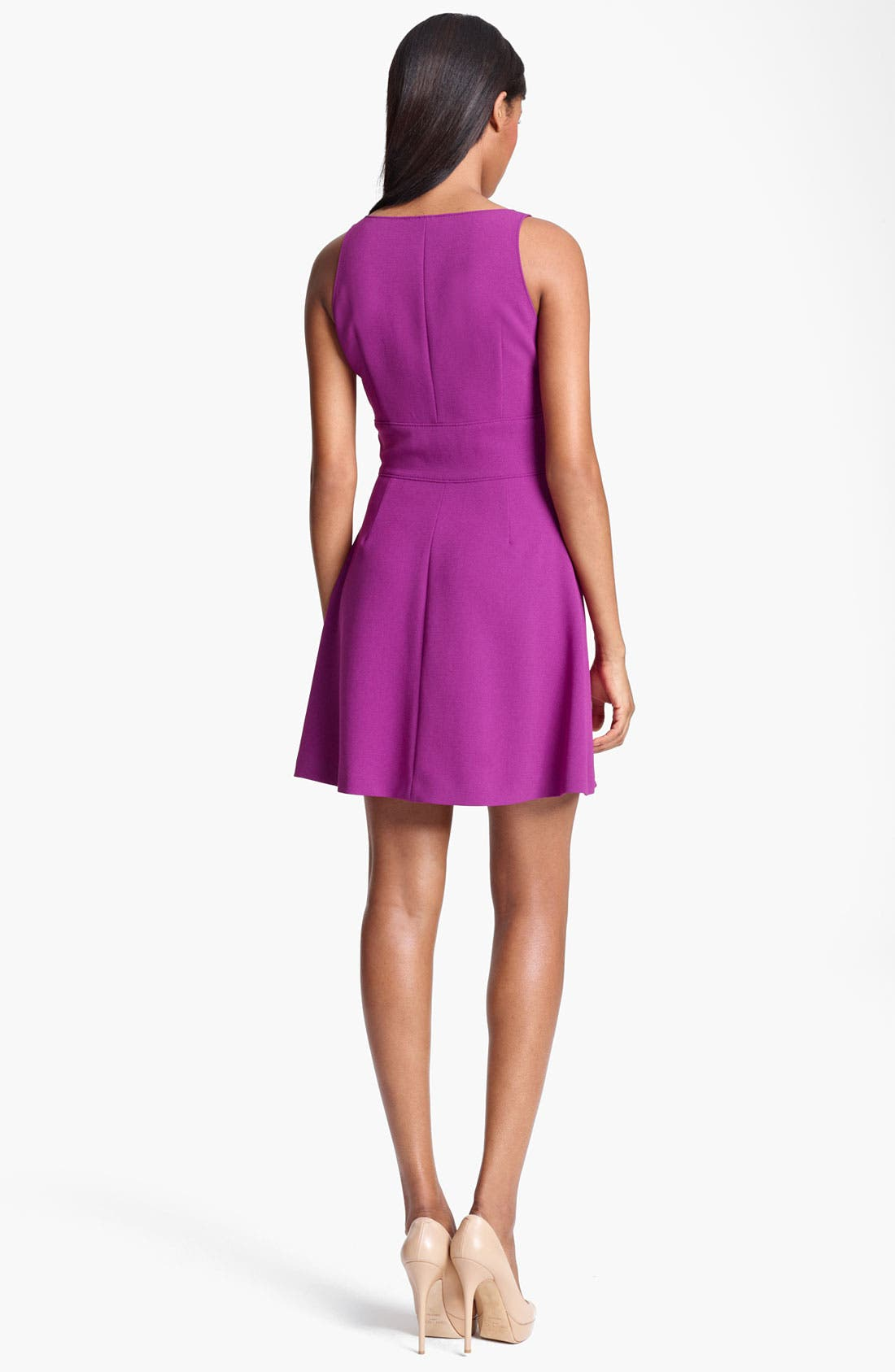 Alternate Image 2  - Moschino Cheap & Chic Sleeveless Crepe Dress