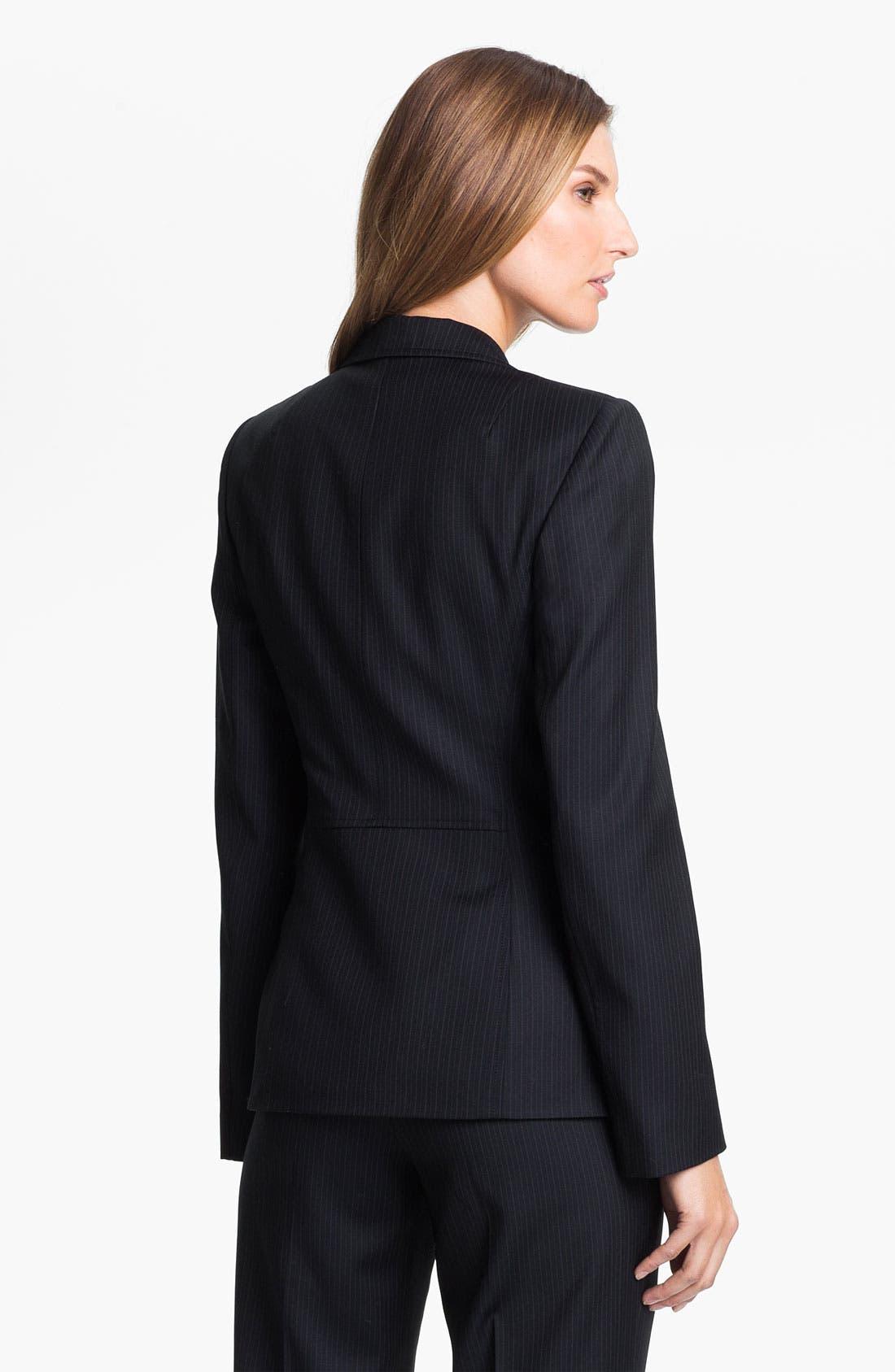 Alternate Image 2  - Santorelli 'Vicky' Shaped Jacket