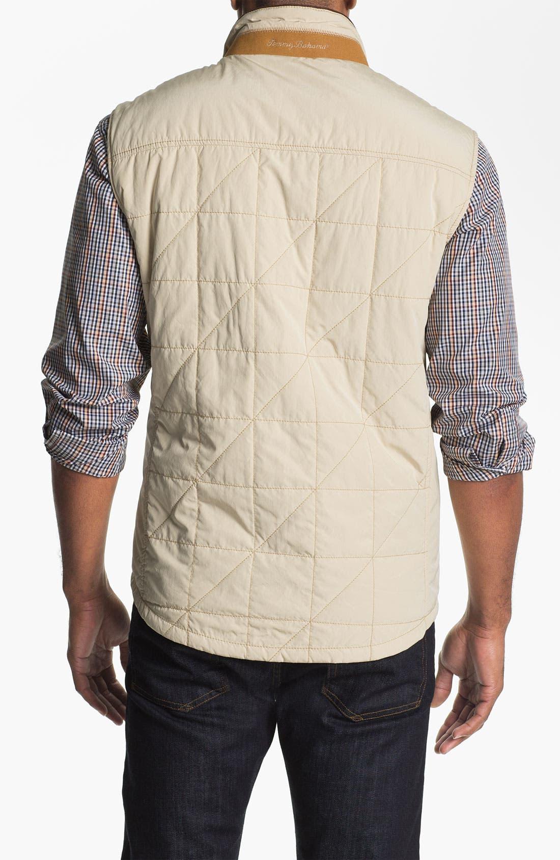 Alternate Image 2  - Tommy Bahama 'Vestination' Quilted Vest