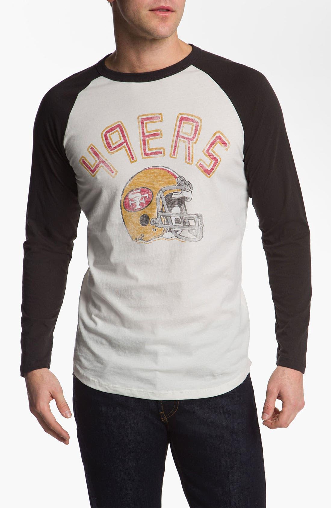 Alternate Image 1 Selected - Junk Food 'San Francisco 49ers' Raglan Sleeve T-Shirt