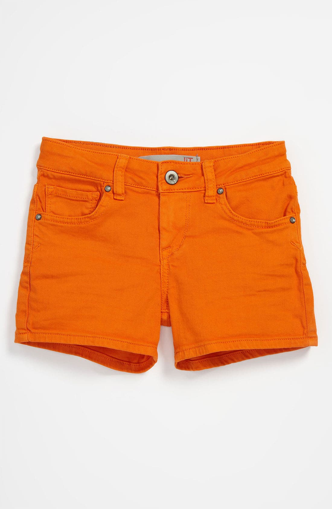 Alternate Image 2  - !iT JEANS Five Pocket Shorts (Little Girls)