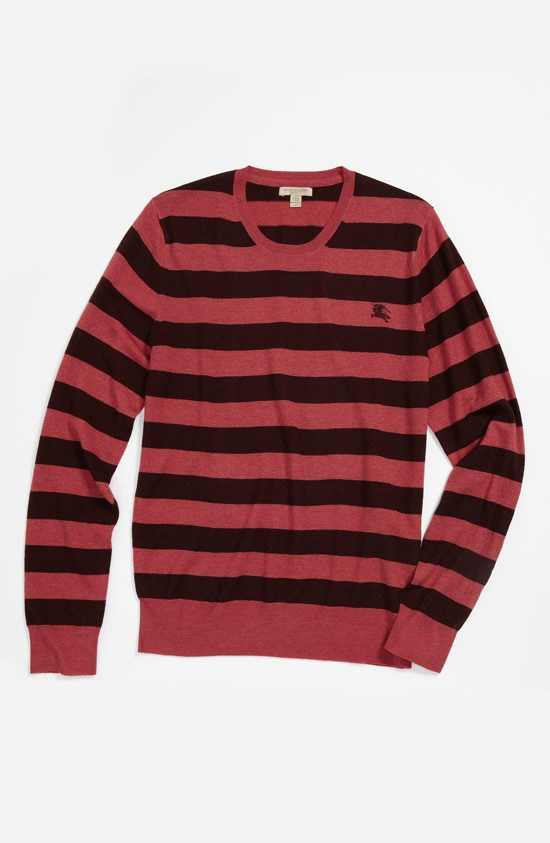 Alternate Image 4  - Burberry Brit 'Peyton' Lightweight Merino Wool Sweater