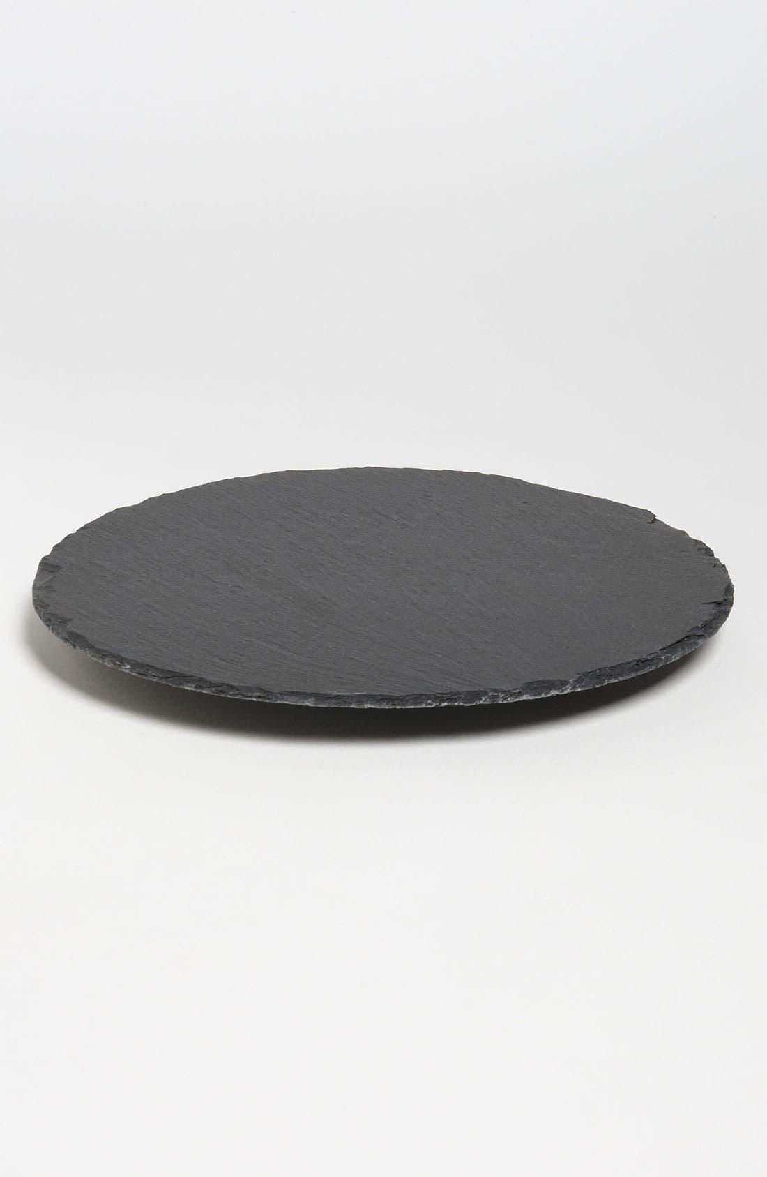 Main Image - 'Monaco' Lazy Susan Slate Cheese Board