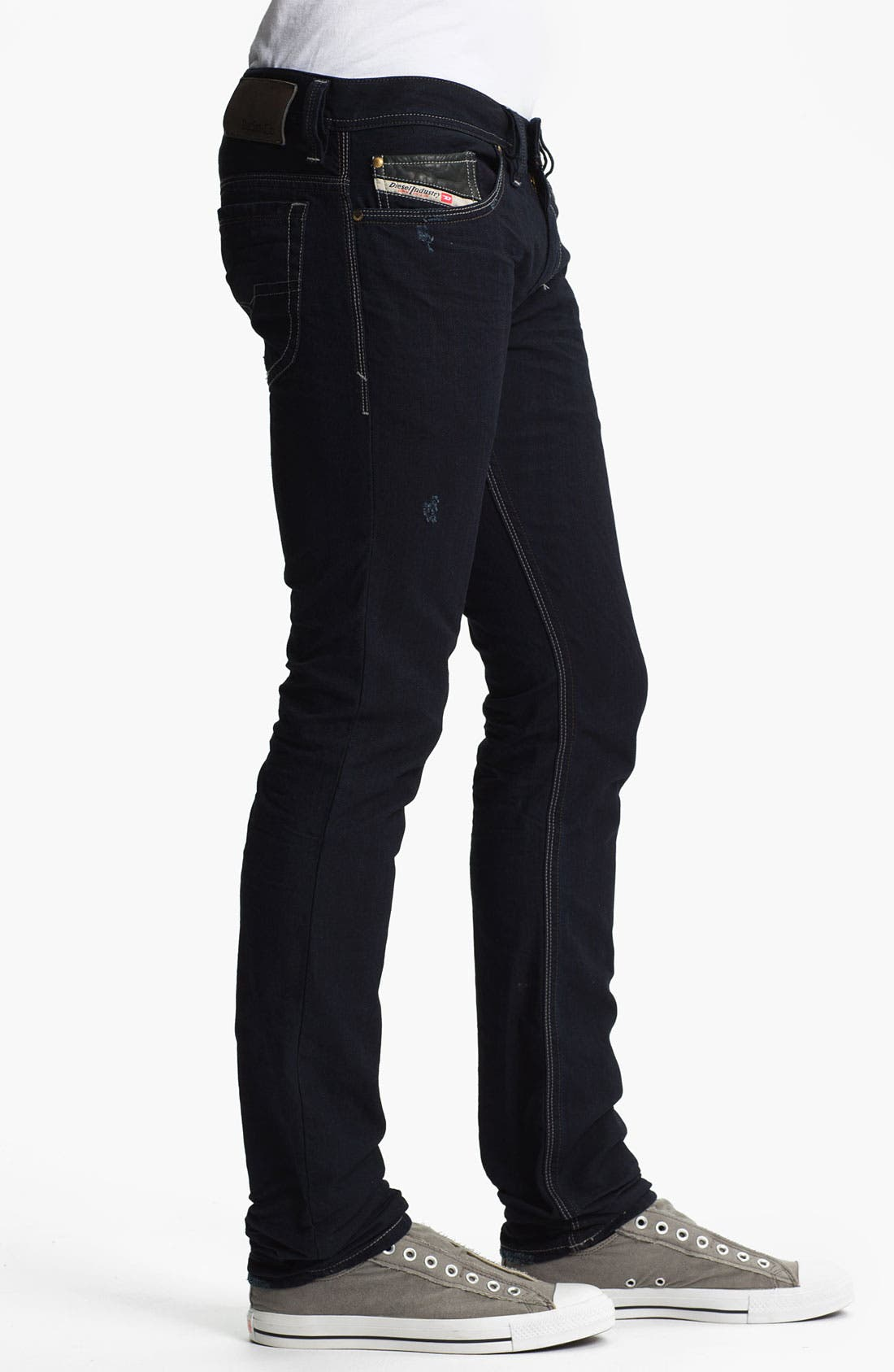 Alternate Image 3  - DIESEL® 'Thanaz' Slim Skinny Leg Jeans (0601K)