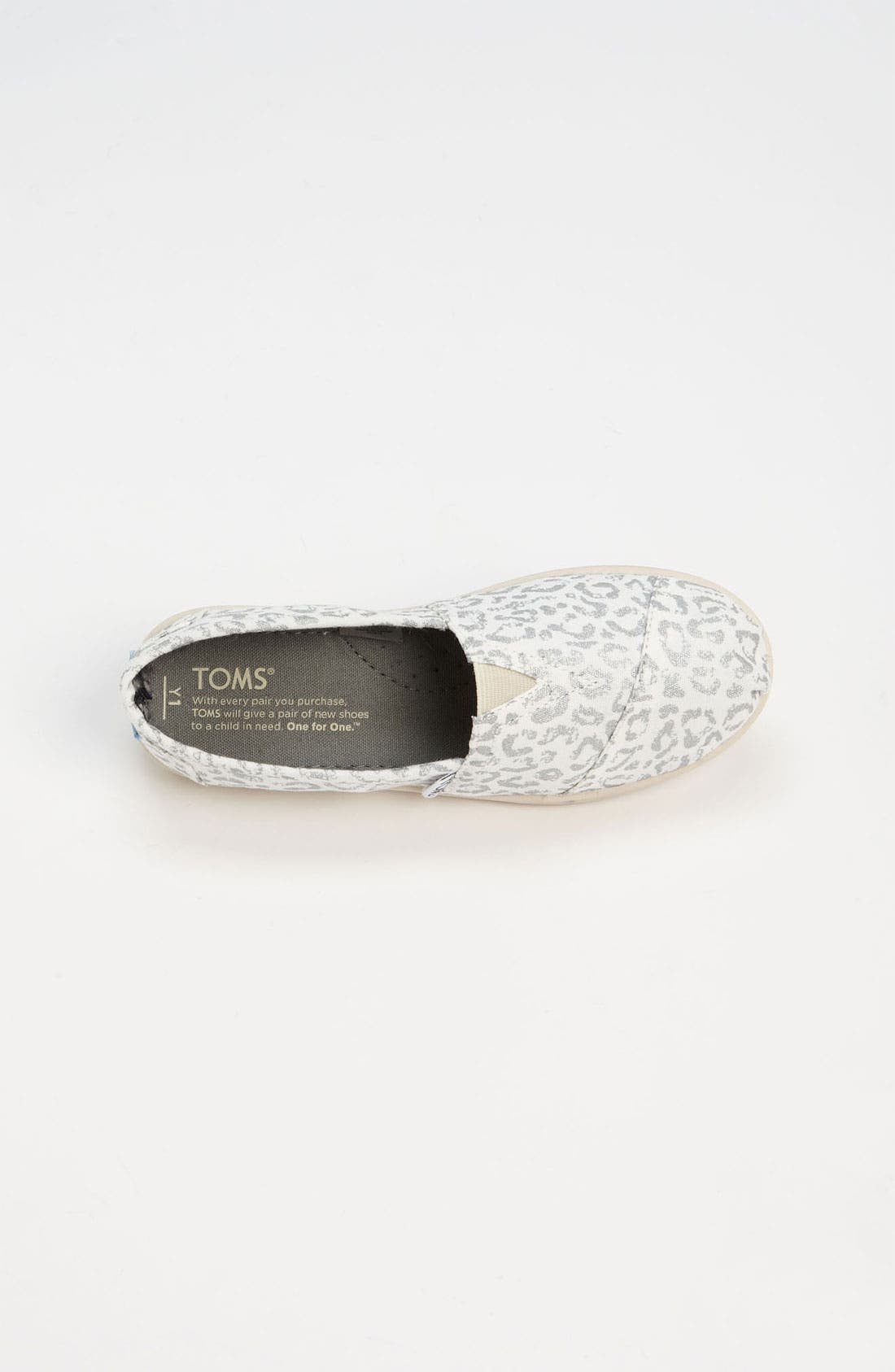 Alternate Image 3  - TOMS 'Classic Youth - Earthwise Leopard' Slip-On (Toddler, Little Kid, Big Kid)