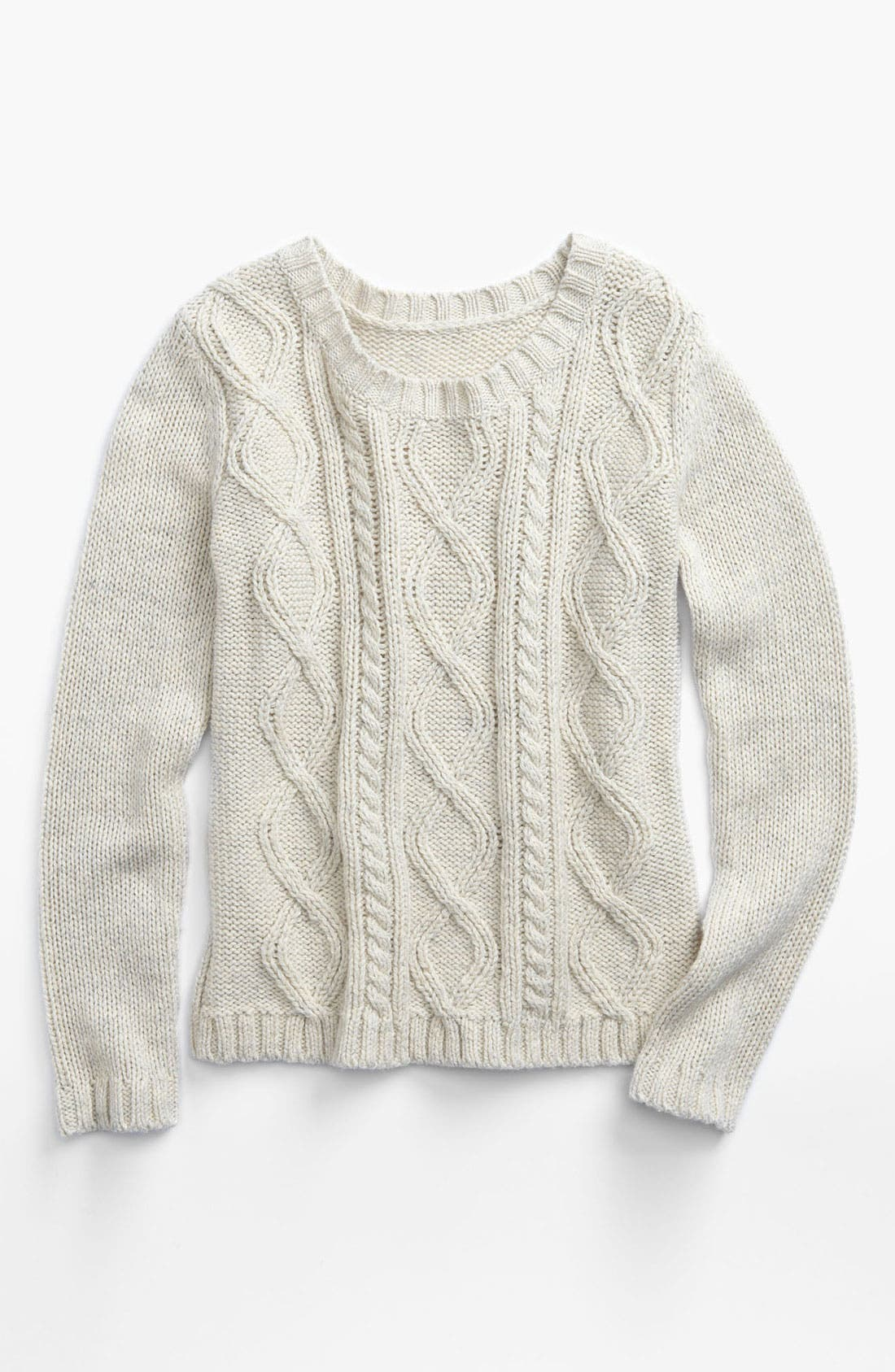 Alternate Image 1 Selected - Tucker + Tate 'Melody' Cable Knit Sweater (Little Girls)