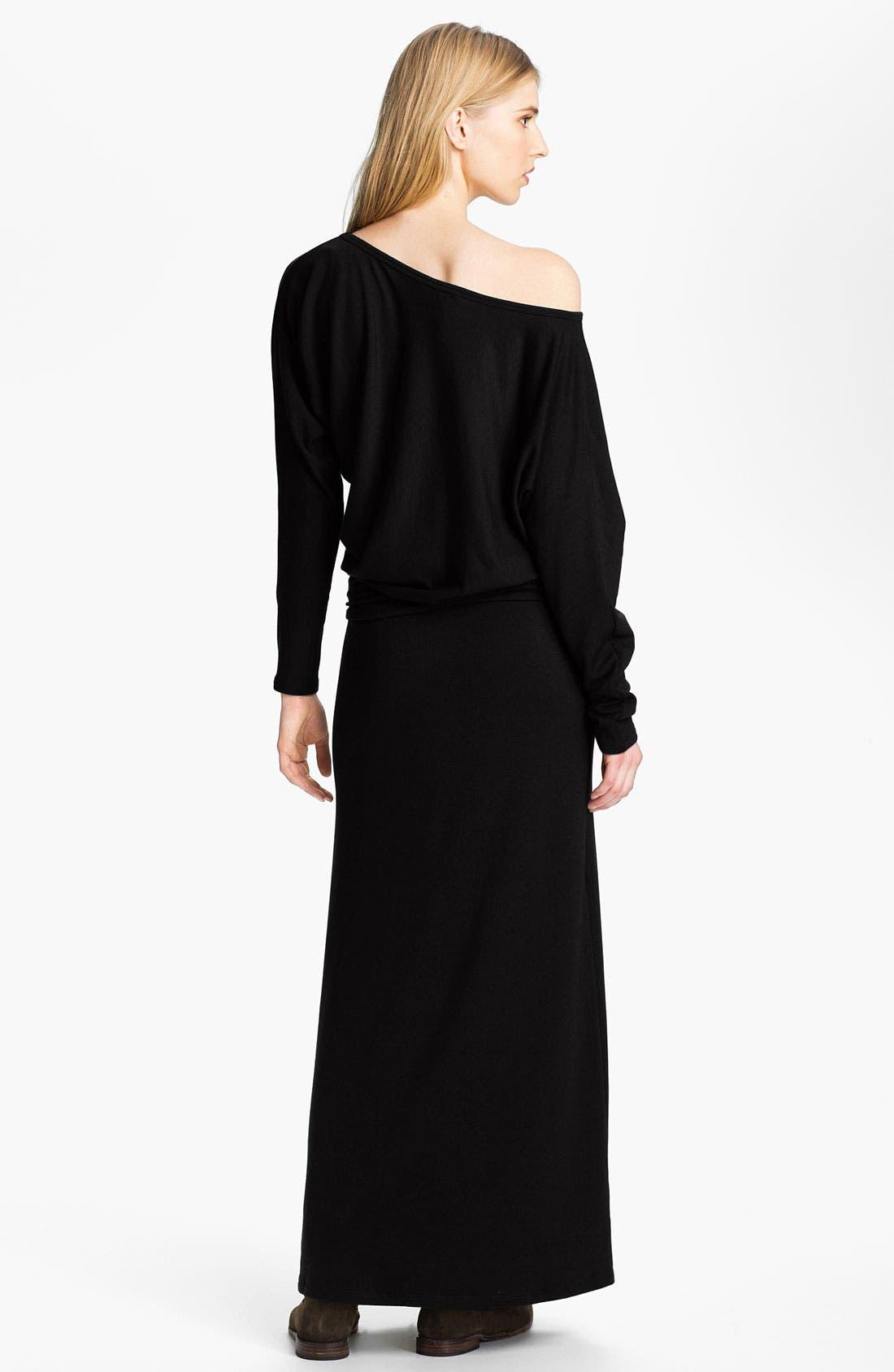 Alternate Image 2  - Tart 'Yvonne' Off the Shoulder Sweater Maxi Dress