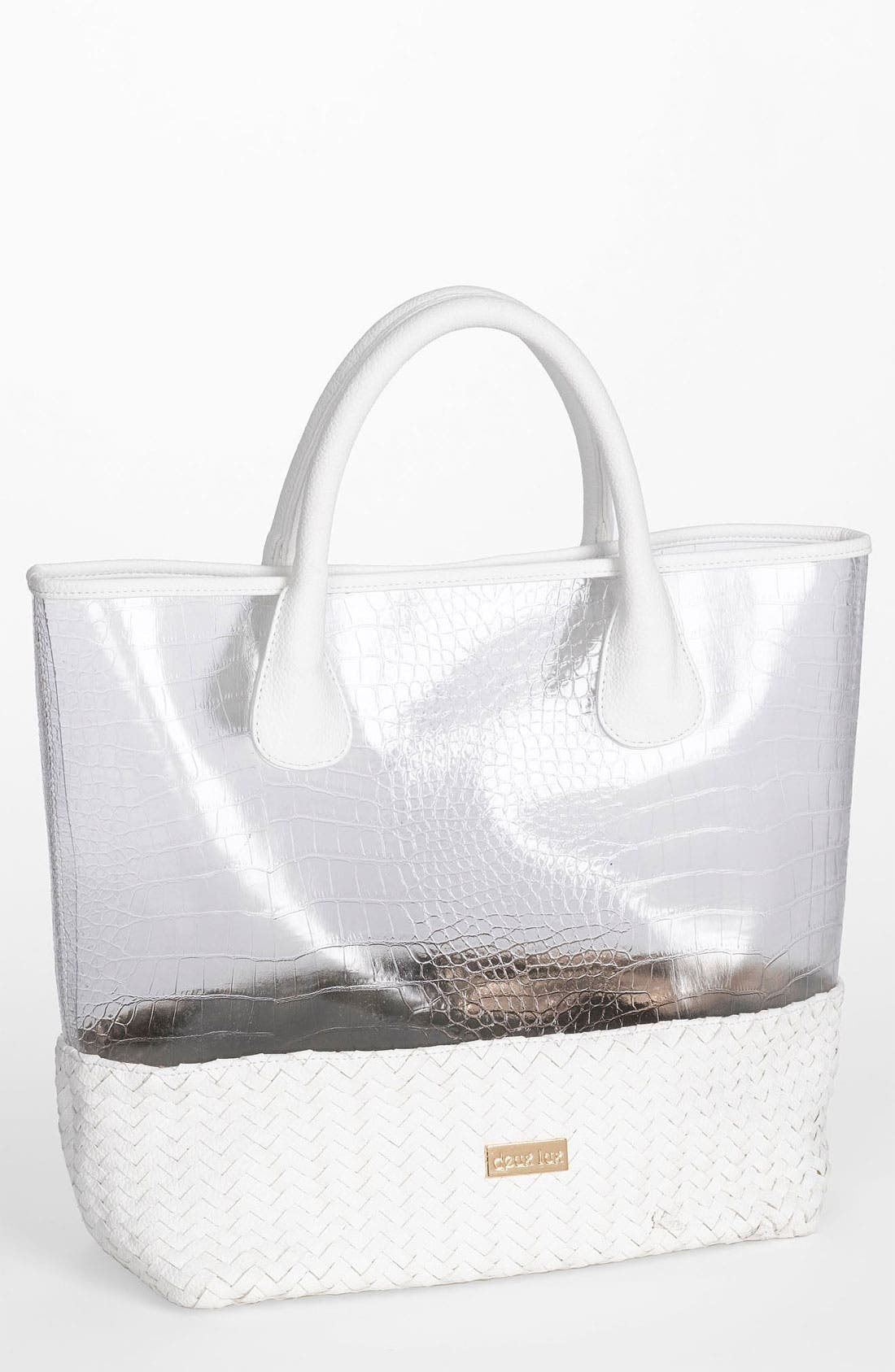 Alternate Image 1 Selected - Deux Lux 'Mykonos' Clear Tote