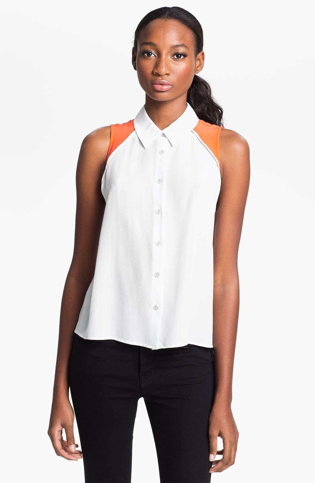 Alternate Image 1 Selected - Equipment 'Mina' Silk Shirt