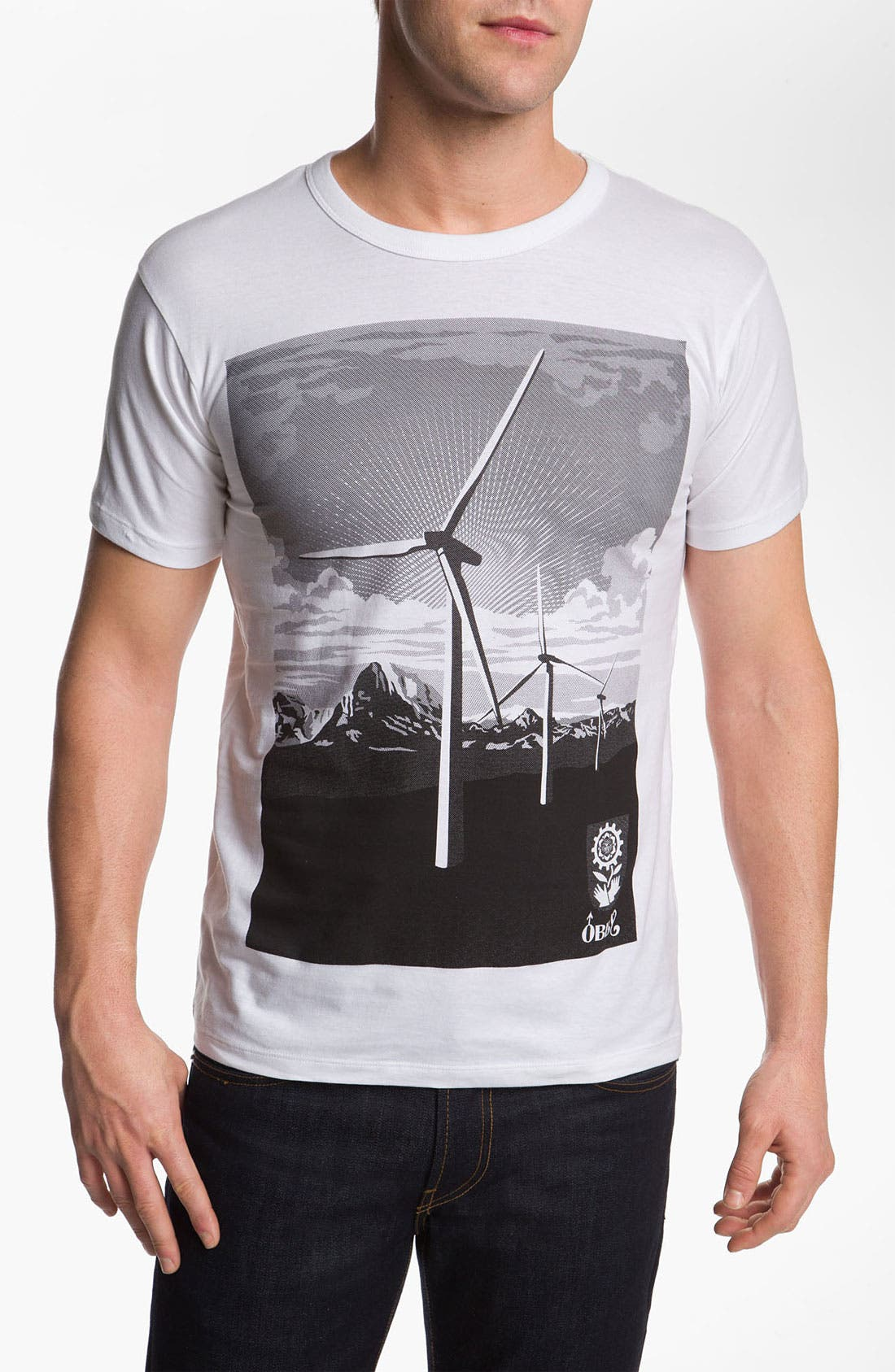 Alternate Image 1 Selected - Obey 'Windmill' Graphic T-Shirt