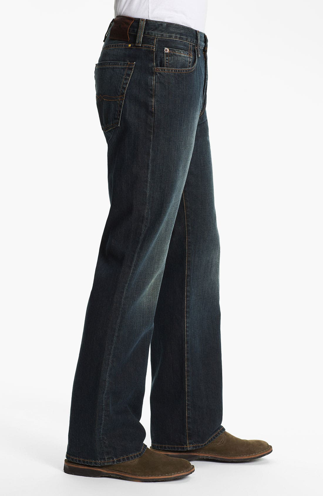 Alternate Image 3  - Lucky Brand '181' Relaxed Straight Leg Jeans (Love train)