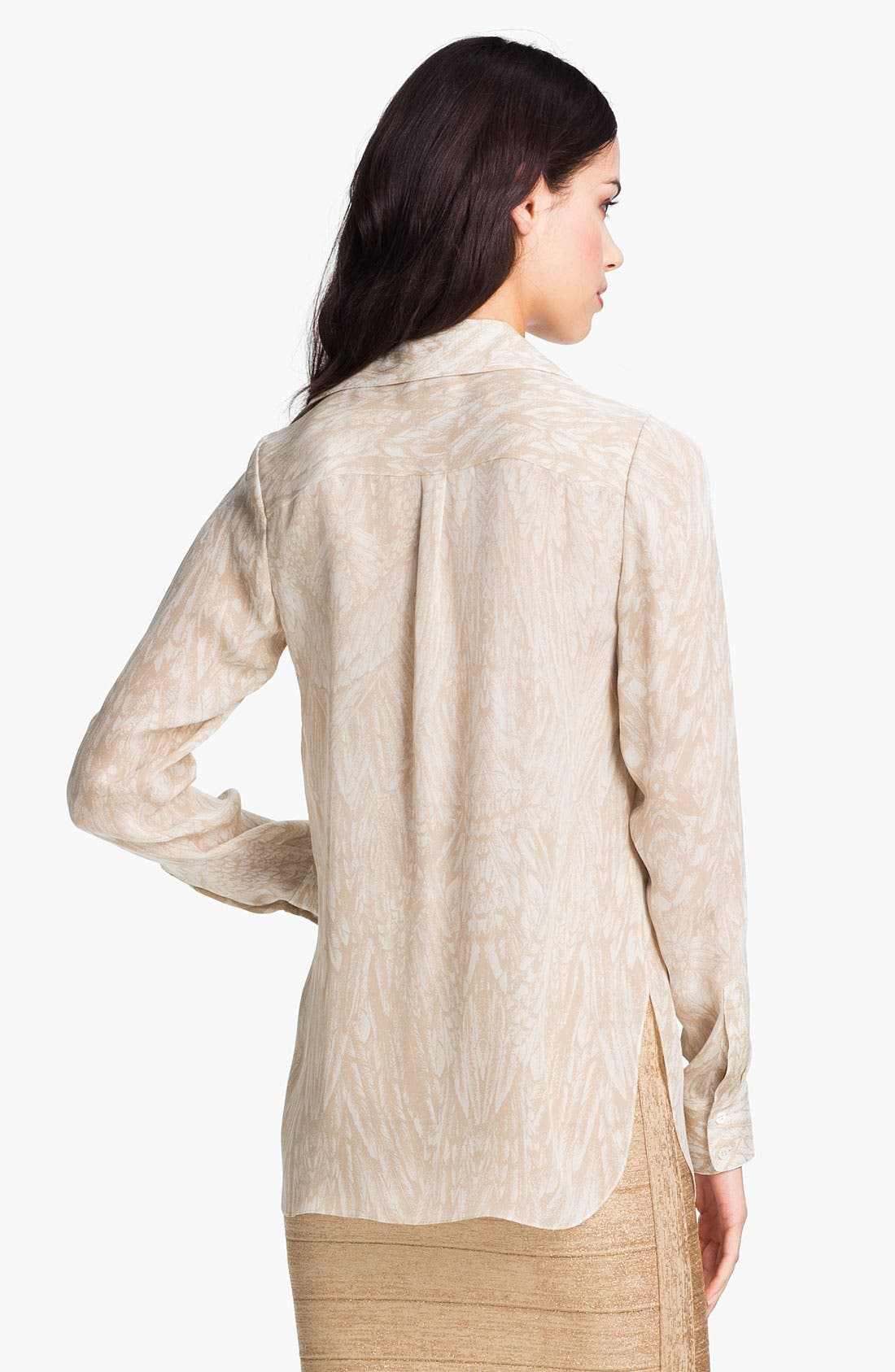 Alternate Image 2  - Haute Hippie Drape Neck Blouse