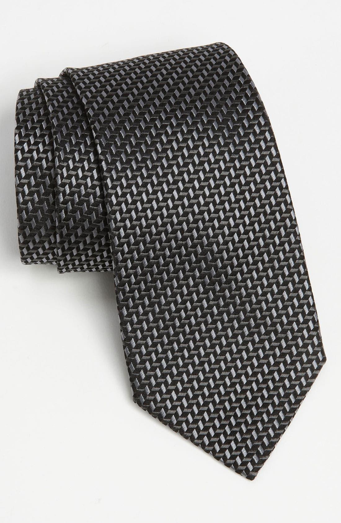 Main Image - Z Zegna Woven Silk Tie