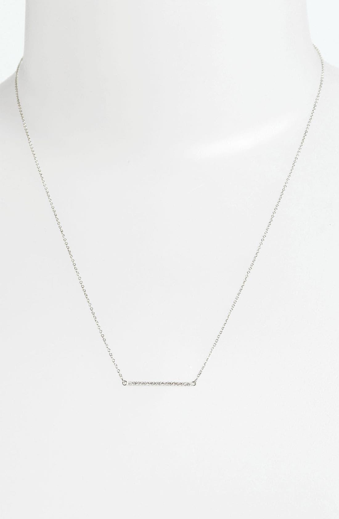 Main Image - Bony Levy Diamond Bar Necklace (Nordstrom Exclusive)