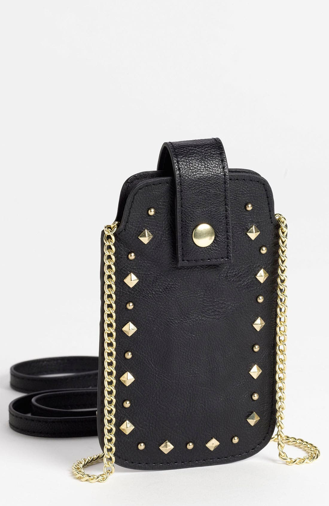 Alternate Image 1 Selected - Lulu Studded Crossbody iPhone Case