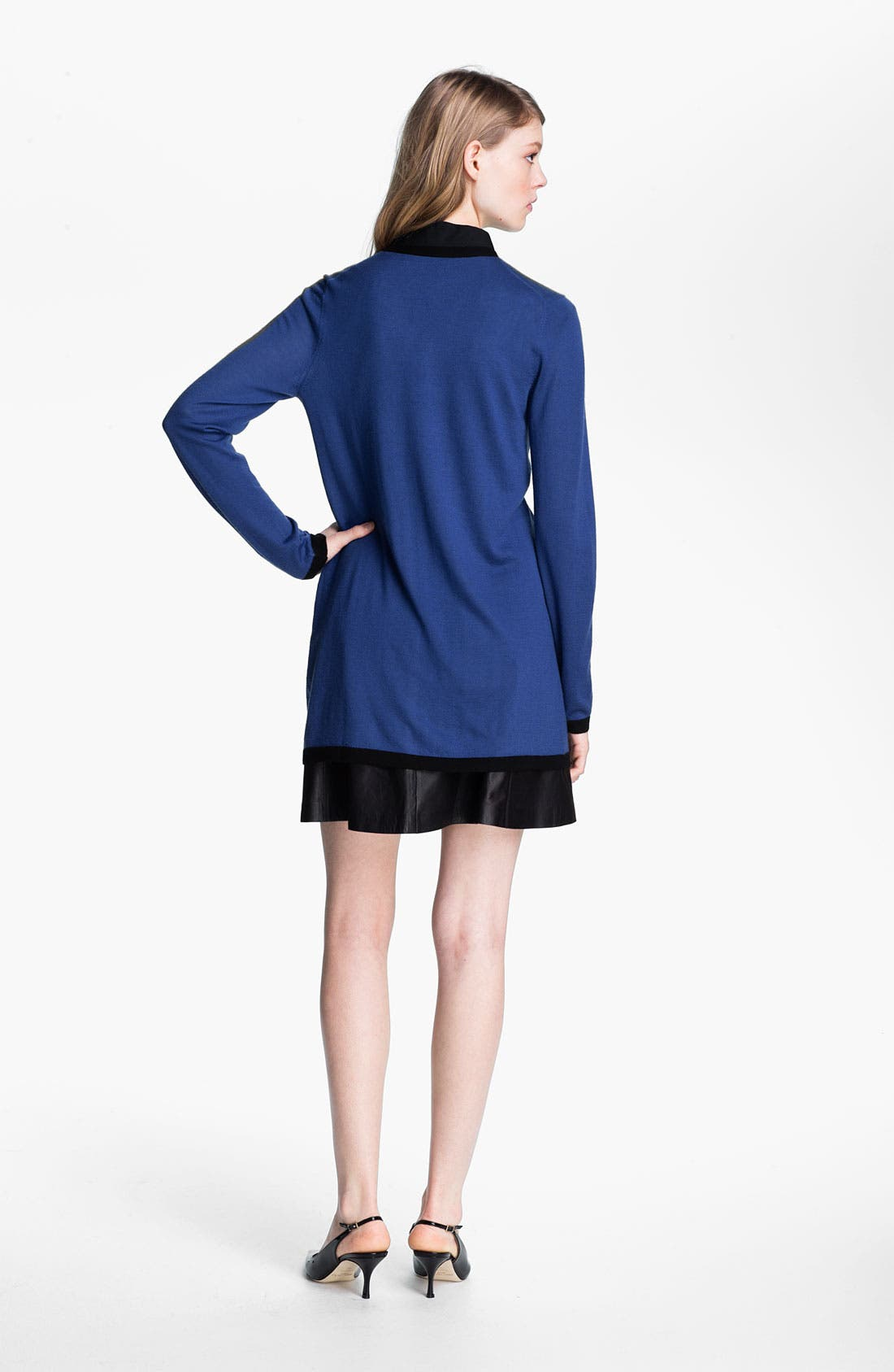 Alternate Image 4  - Miss Wu 'Sofie' Color Tipped Cashmere Cardigan (Nordstrom Exclusive)