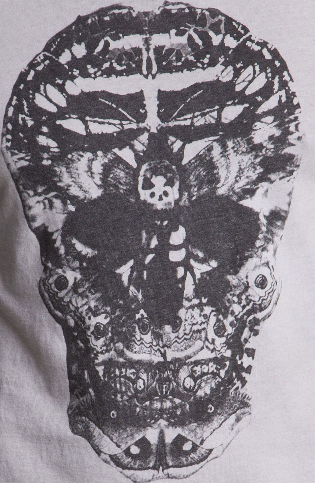Alternate Image 3  - Black Hearts Brigade 'Death Moth Skull' Graphic T-Shirt