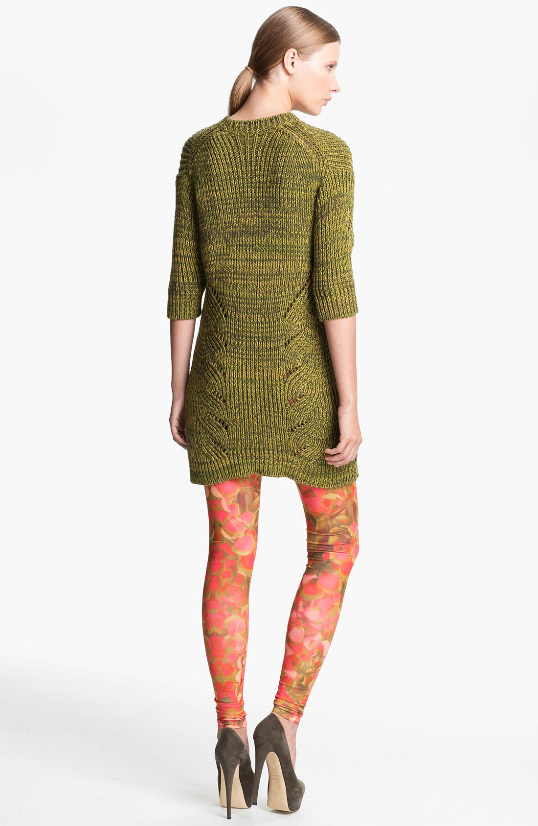 Alternate Image 2  - McQ by Alexander McQueen Ribbed Sweater Tunic