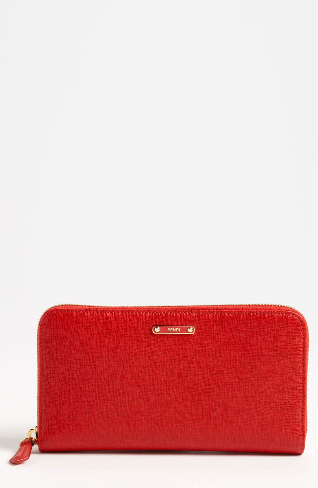 Alternate Image 1 Selected - Fendi 'Crayons' Leather Wallet