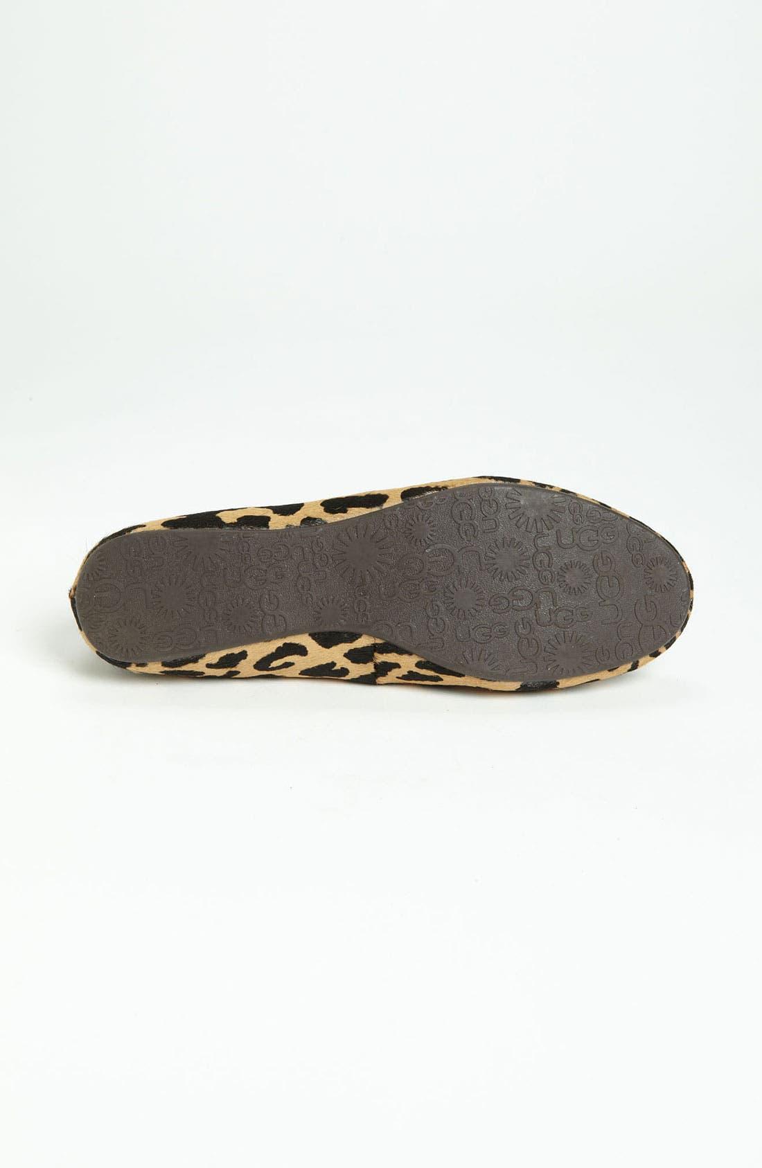 Alternate Image 4  - UGG® Australia 'Alloway Exotic' Slipper (Women)