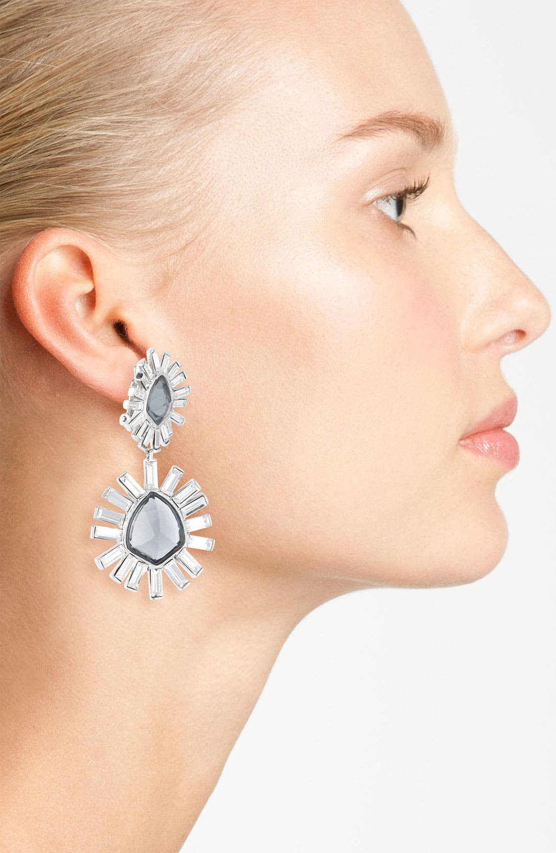Alternate Image 2  - Alexis Bittar 'Miss Havisham - Bel Air' Starburst Drop Clip Earrings
