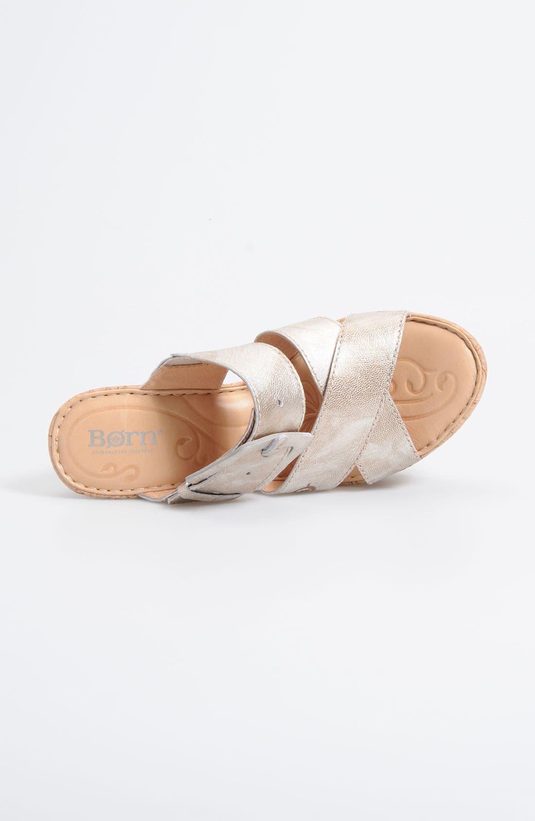 Alternate Image 3  - Børn 'Beau' Wedge Sandal (Nordstrom Exclusive)