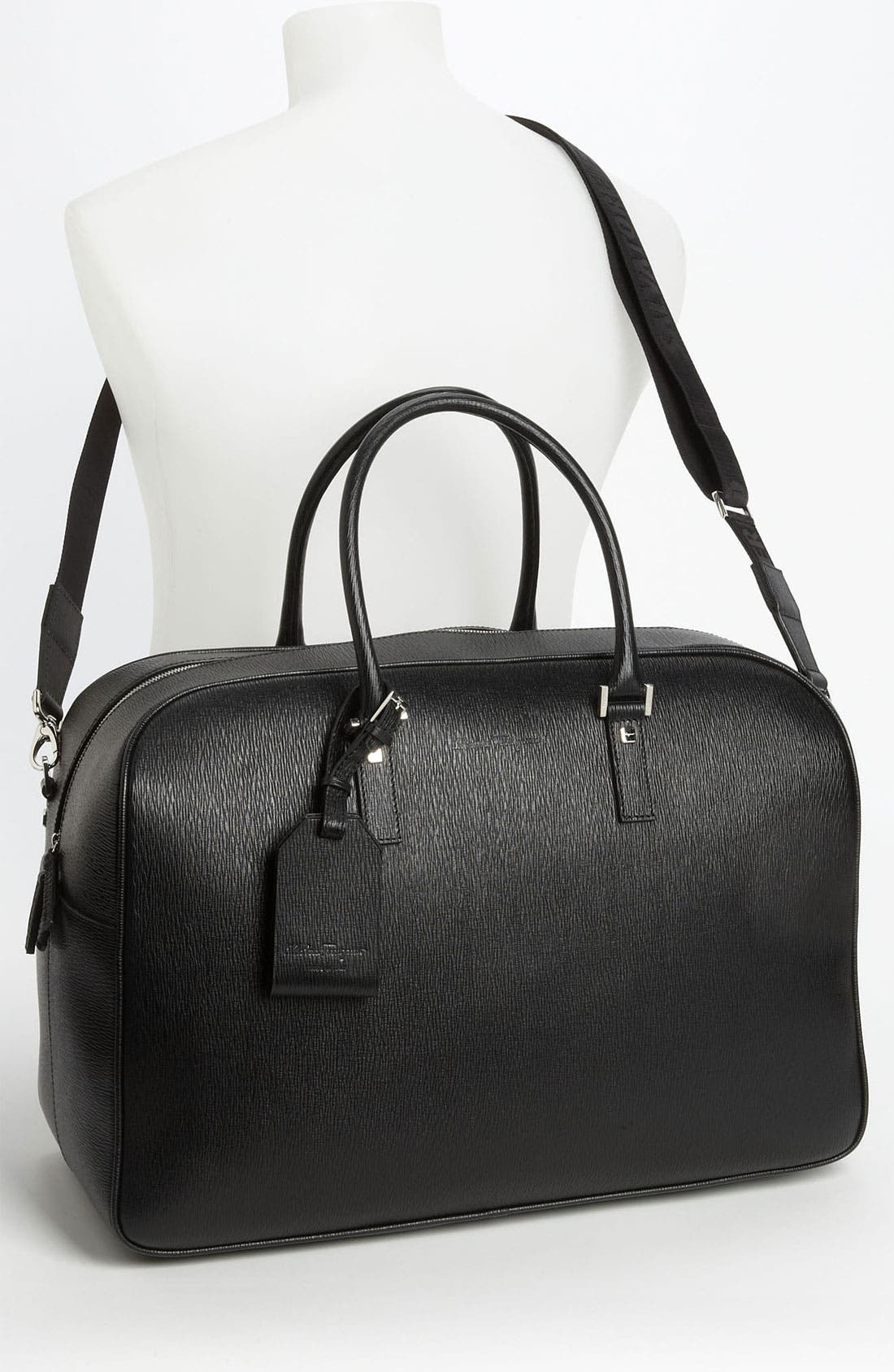 Alternate Image 4  - Salvatore Ferragamo 'Revival' Duffel Bag