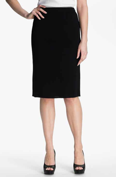 Ming Wang Black Skirts: A-Line, Pencil, Maxi, Miniskirts & More ...
