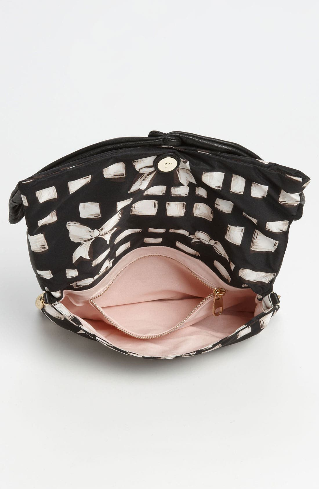 Alternate Image 4  - RED Valentino 'Bow' Print Clutch