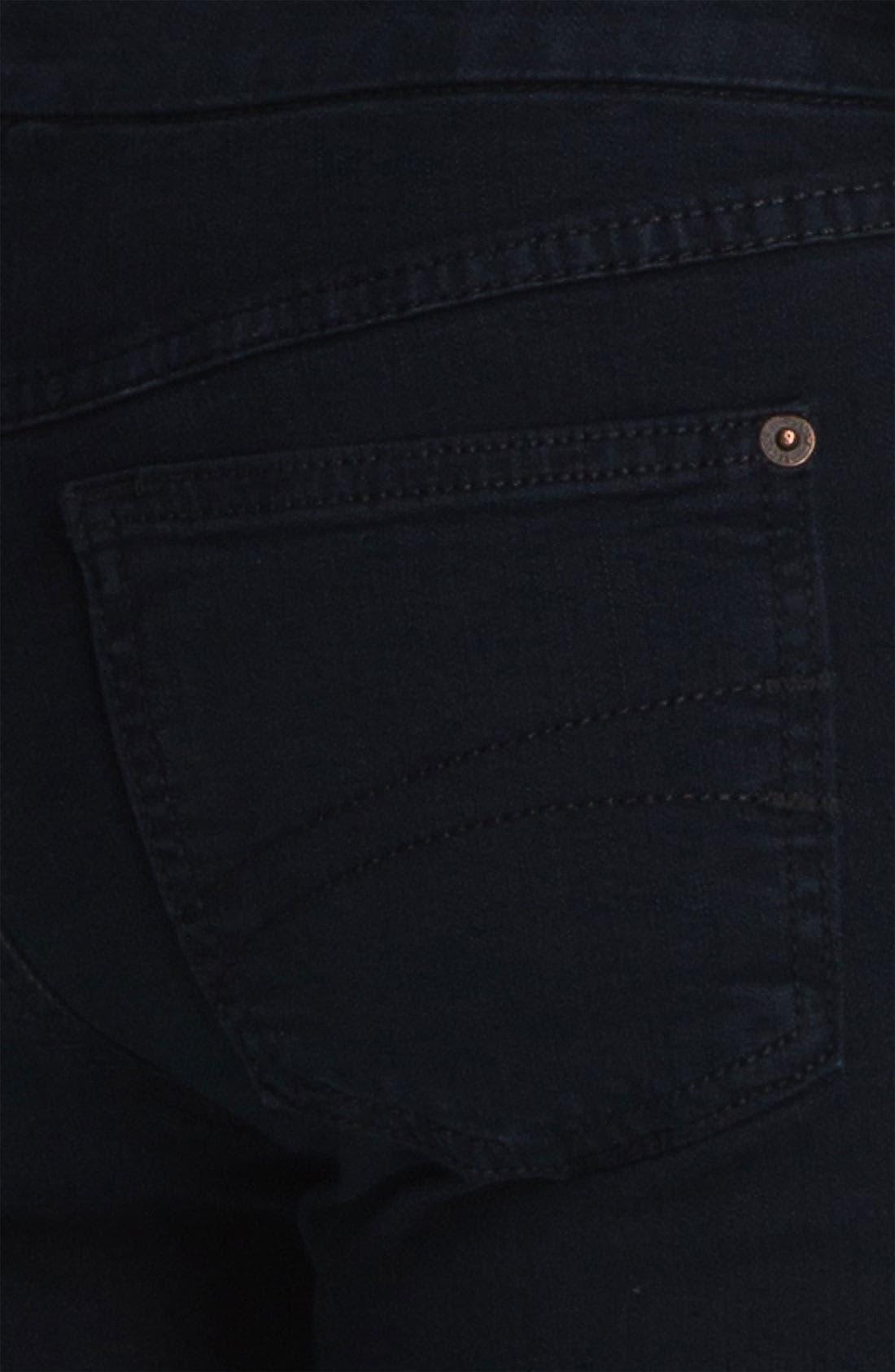 Alternate Image 3  - Second Yoga Jeans Pull-On Skinny Jeans