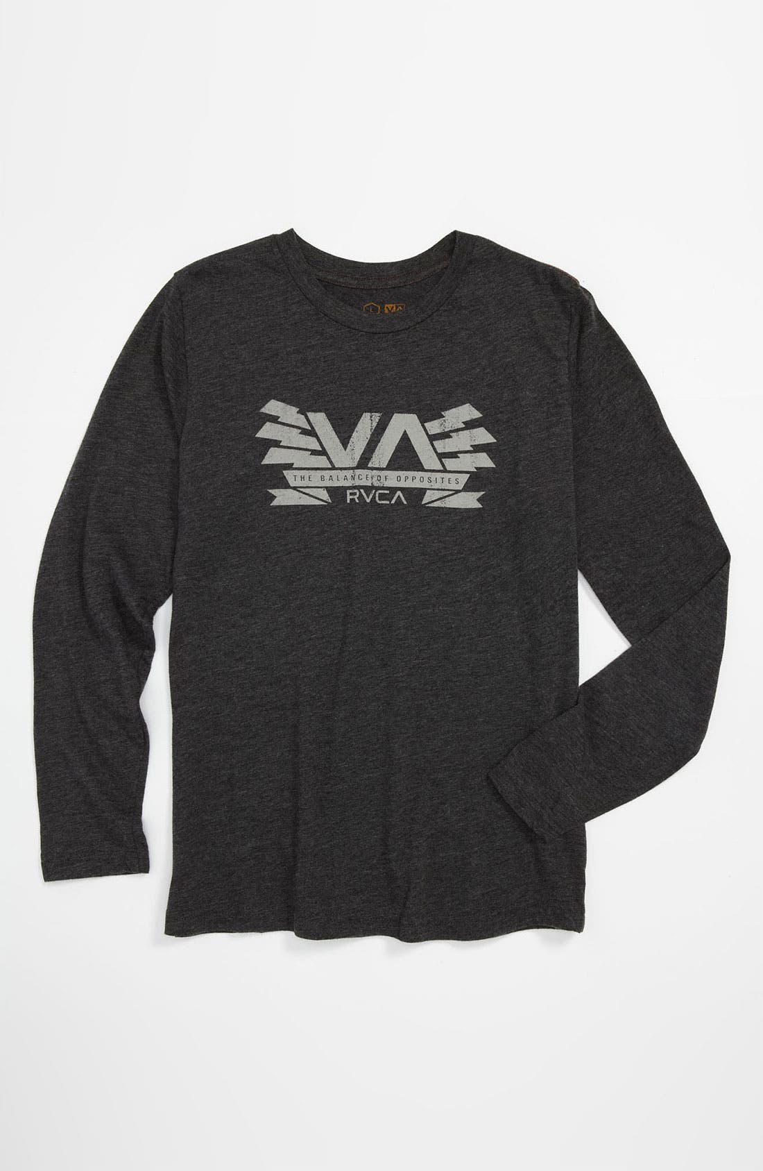 Alternate Image 1 Selected - RVCA 'Charged VA' T-Shirt (Big Boys)