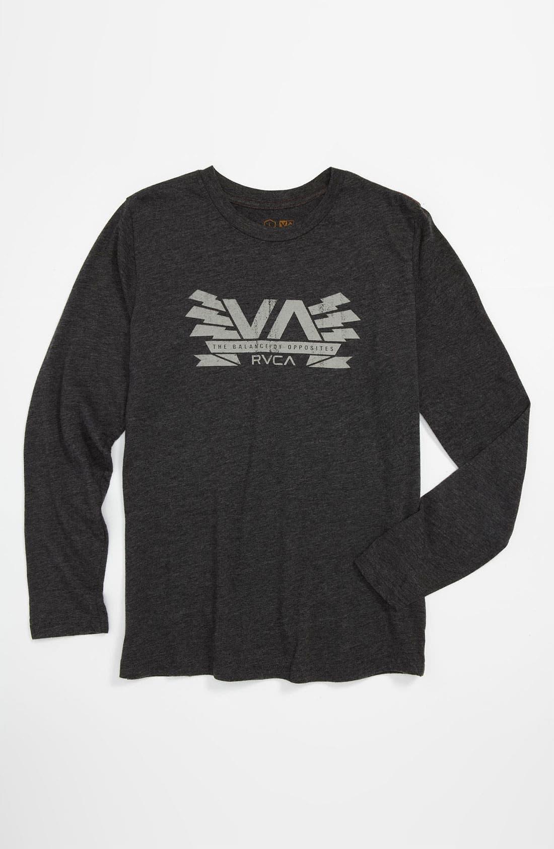 Main Image - RVCA 'Charged VA' T-Shirt (Big Boys)
