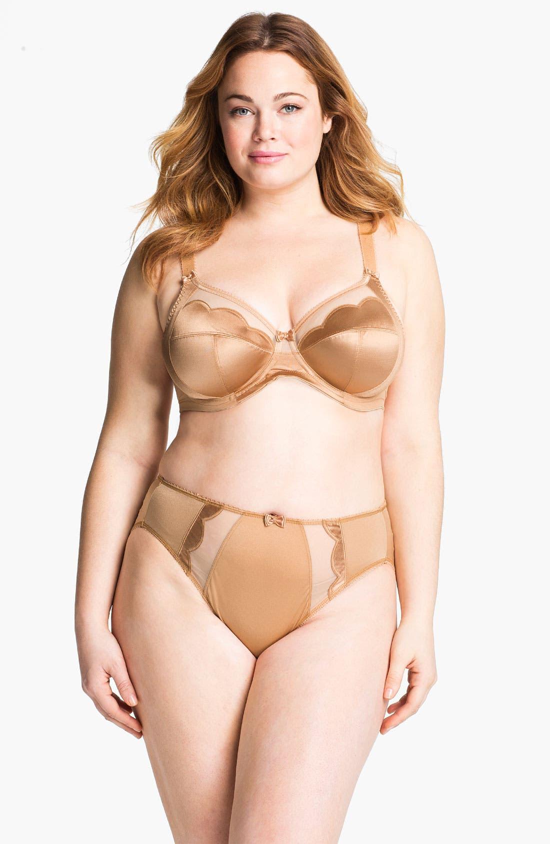 Alternate Image 6  - Elomi 'Rita' Convertible Strap Underwire Bra (Plus Size)