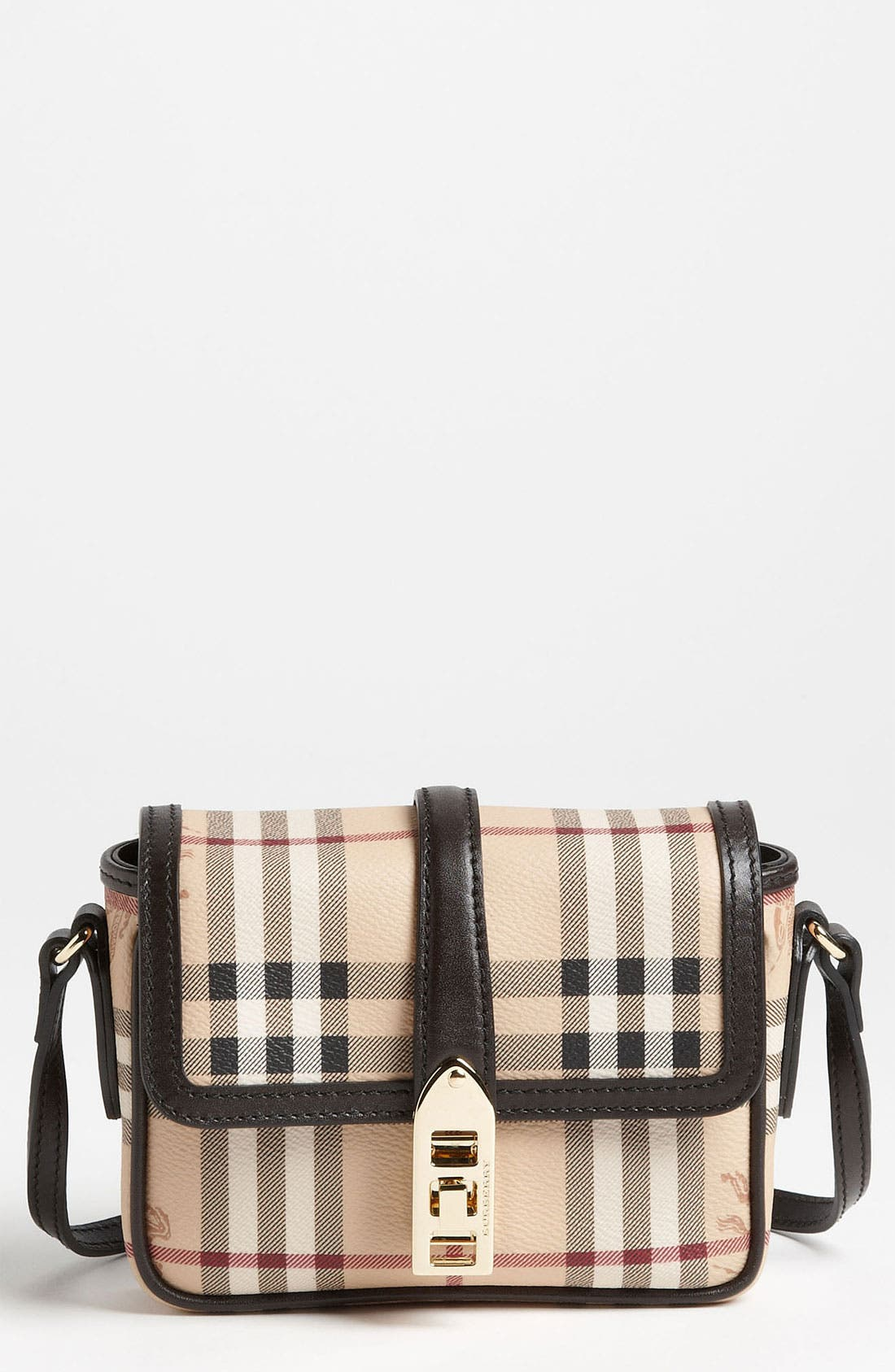 Alternate Image 1 Selected - Burberry 'Haymarket Check' Crossbody Bag