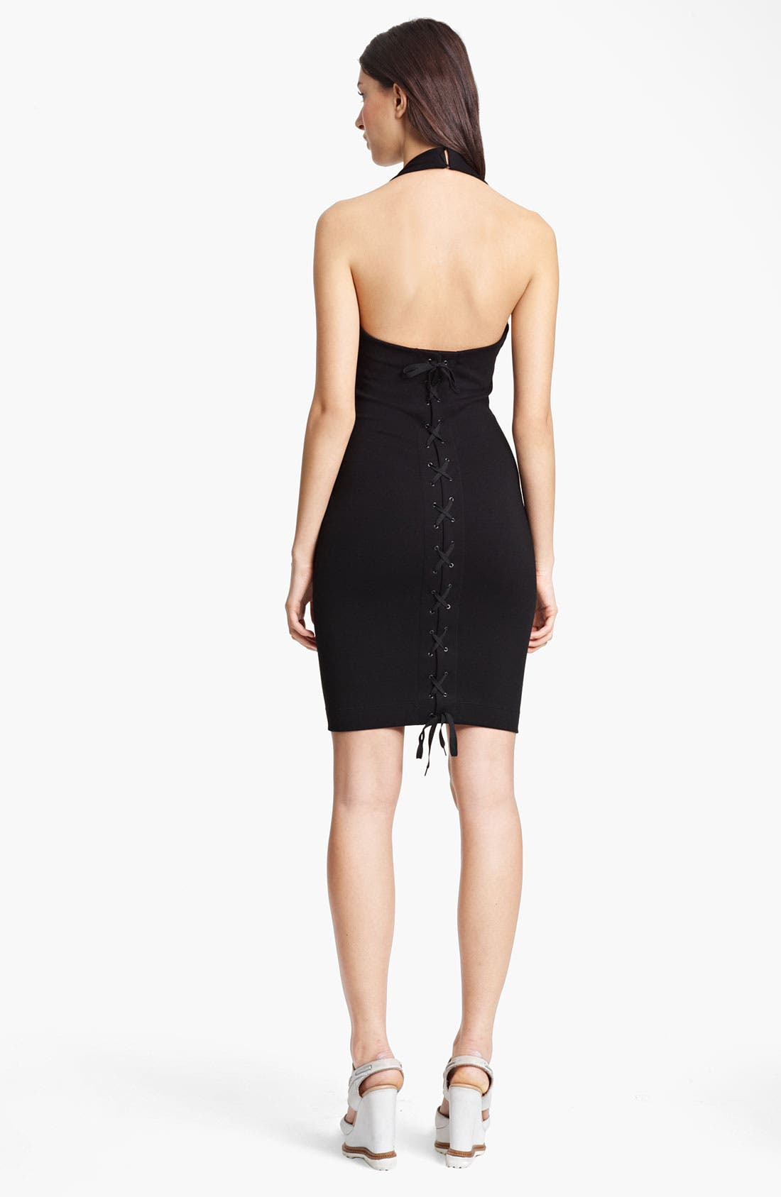 Alternate Image 2  - Jean Paul Gaultier Jersey Halter Dress
