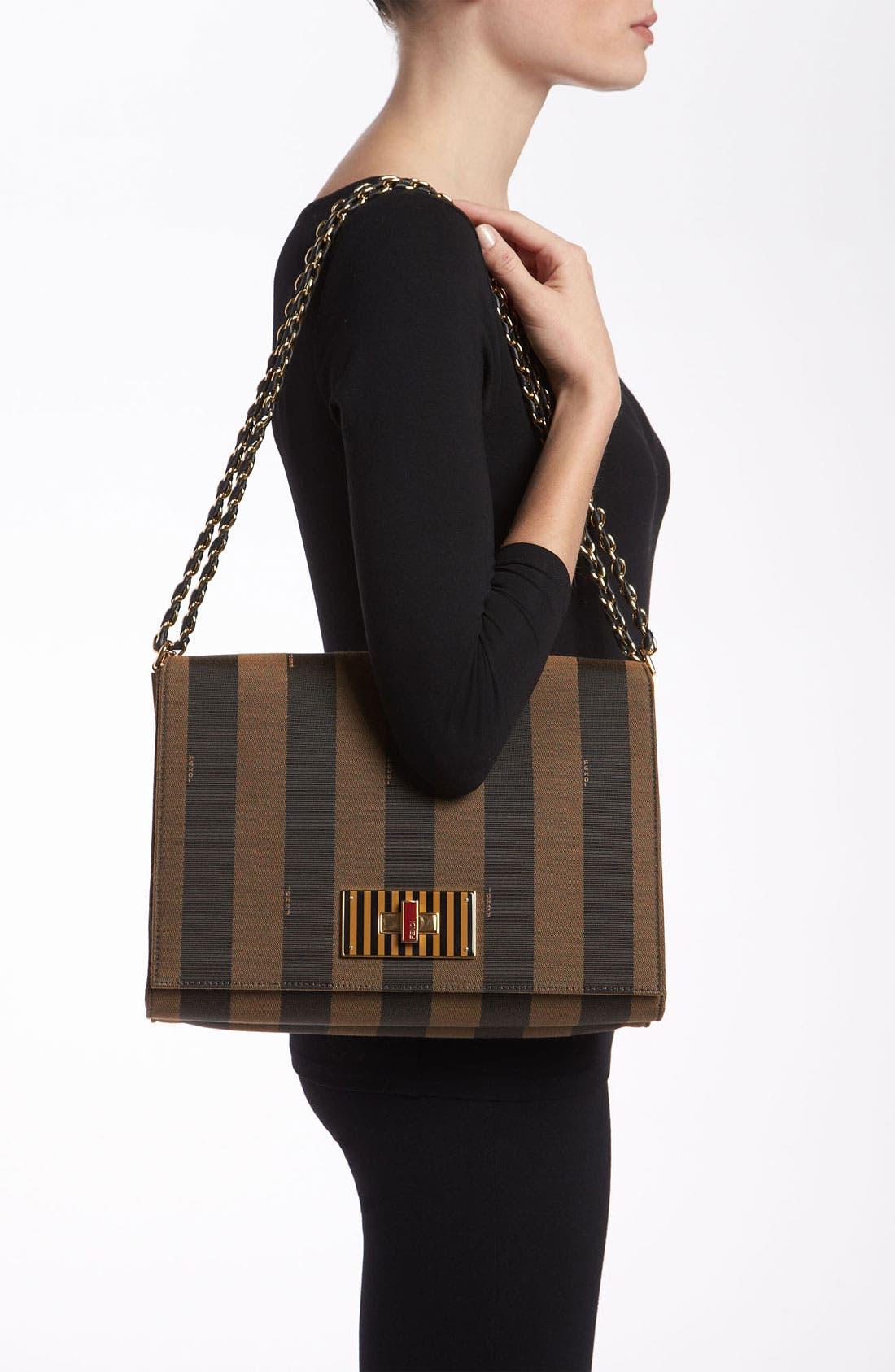 Alternate Image 2  - Fendi 'Large Pequin Claudia' Shoulder Bag