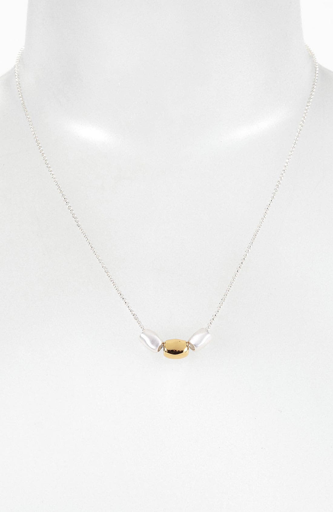 Main Image - Argento Vivo 'Bauble Bar' Two Tone Necklace (Nordstrom Exclusive)
