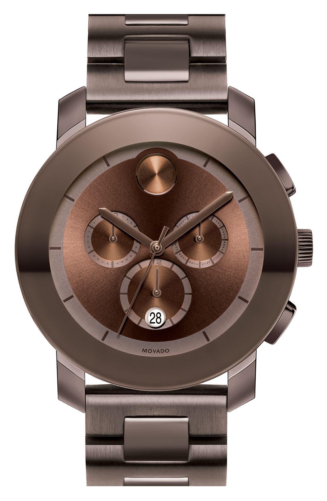 Alternate Image 1 Selected - Movado 'Large Bold Chronograph' Bracelet Watch