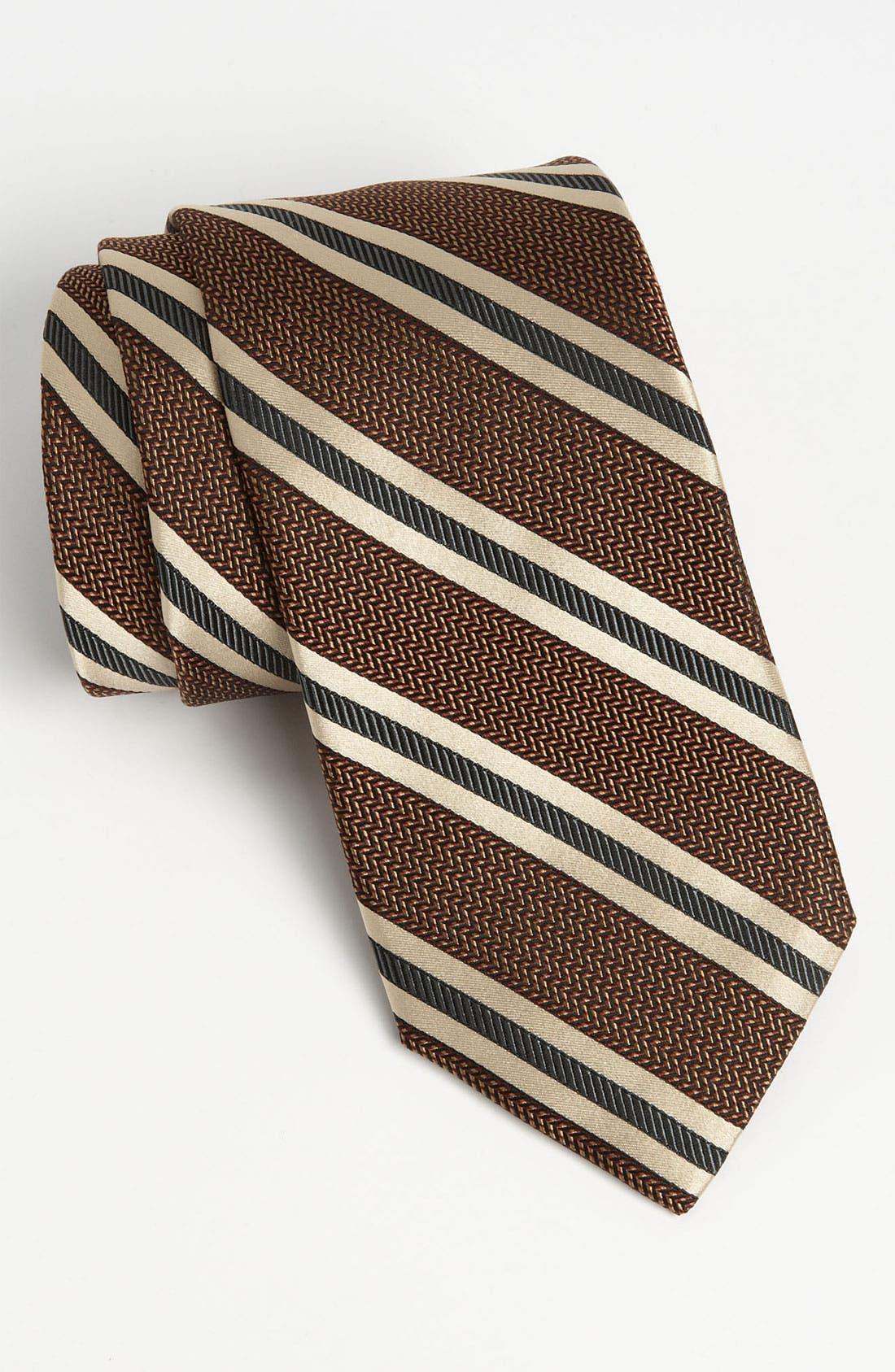 Alternate Image 1 Selected - John W. Nordstrom® Woven Silk Tie