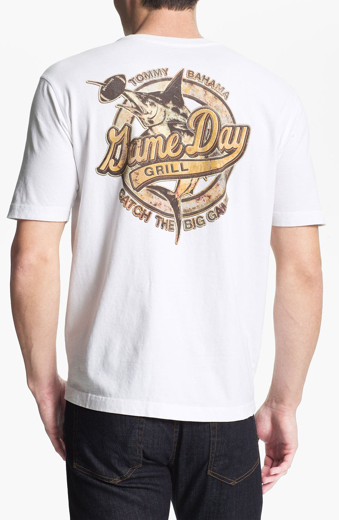 Alternate Image 1 Selected - Tommy Bahama 'Game Day Grill' T-Shirt