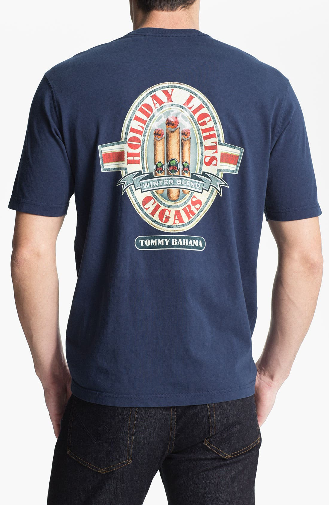 Alternate Image 2  - Tommy Bahama 'Holiday Lights' T-Shirt