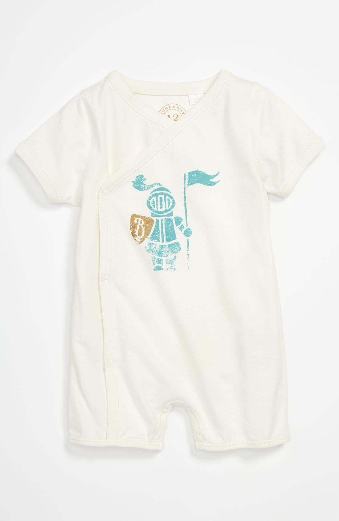 Alternate Image 1 Selected - Burberry 'Eddie' Bodysuit (Baby)