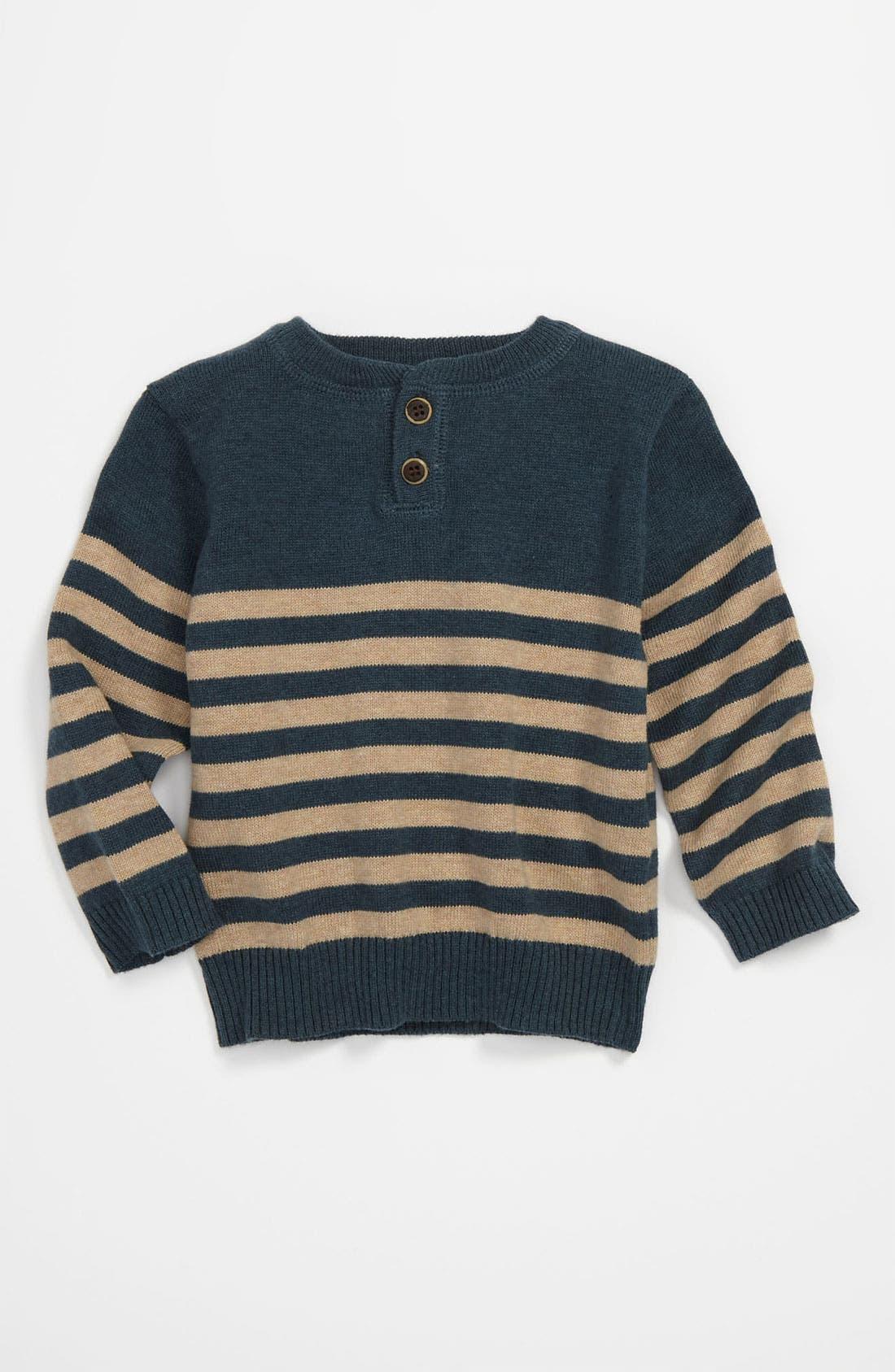 Alternate Image 1 Selected - egg by susan lazar Stripe Sweater (Infant)