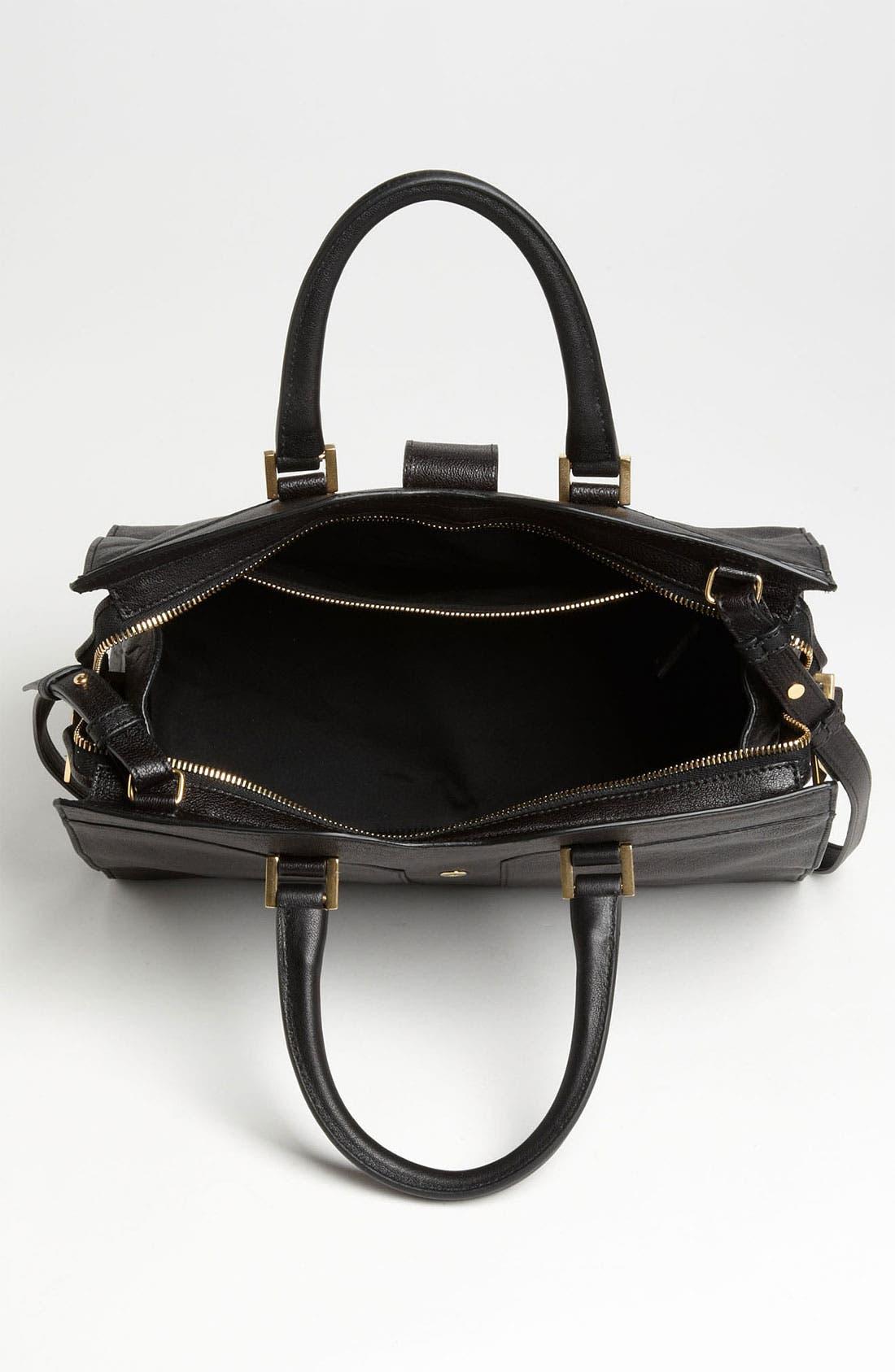 Alternate Image 3  - Saint Laurent Paris 'Cabas Chyc - Mini' Leather
