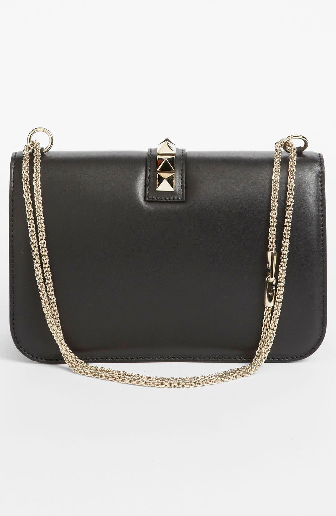 Alternate Image 4  - Valentino 'Lock - Medium' Leather Shoulder Bag
