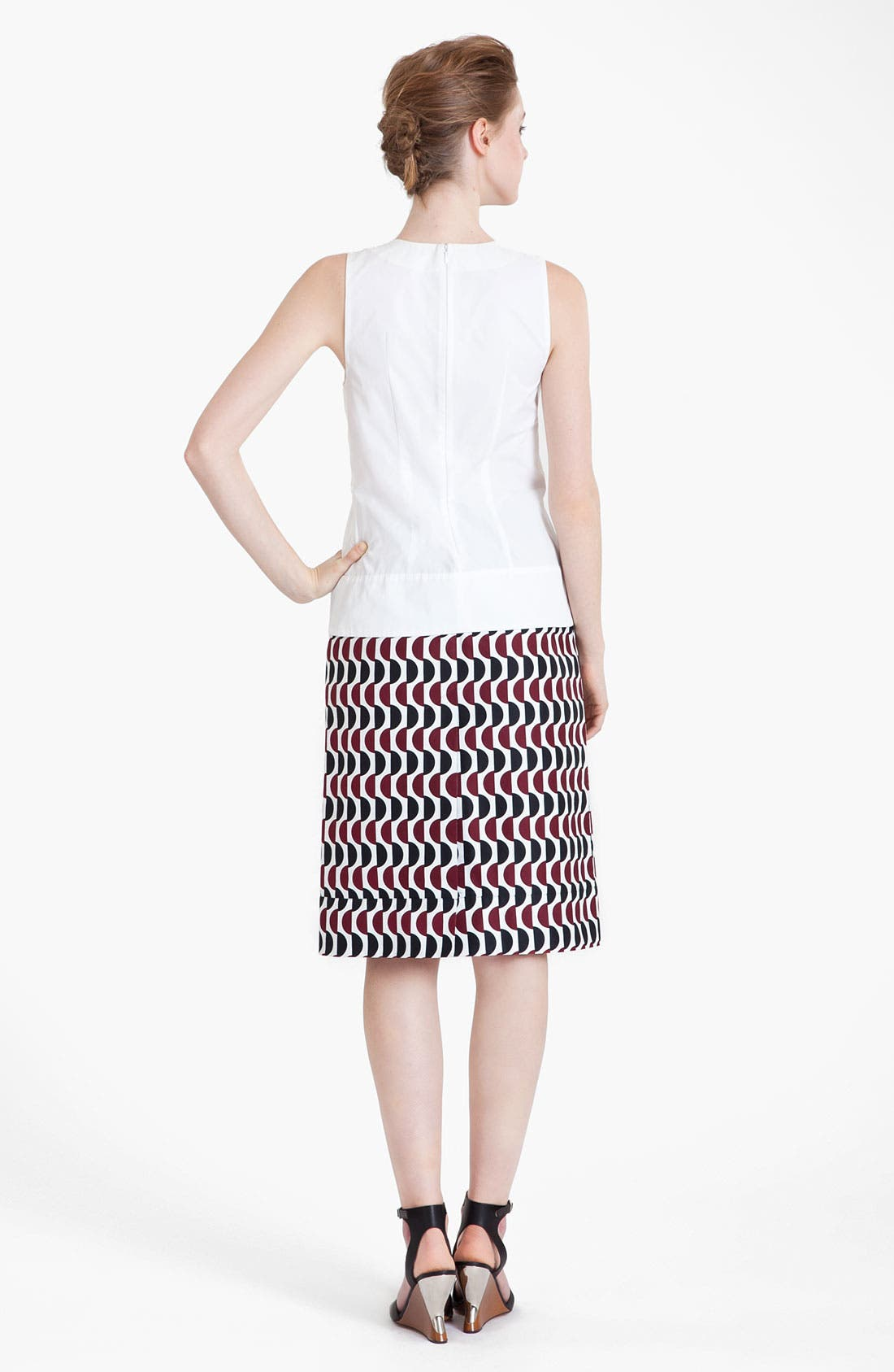 Alternate Image 4  - Marni Pleated Poplin Top