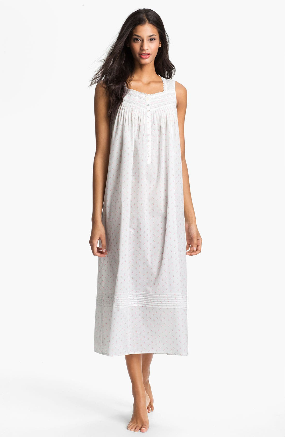 Alternate Image 1 Selected - Eileen West 'Sweet Promise' Ballet Nightgown