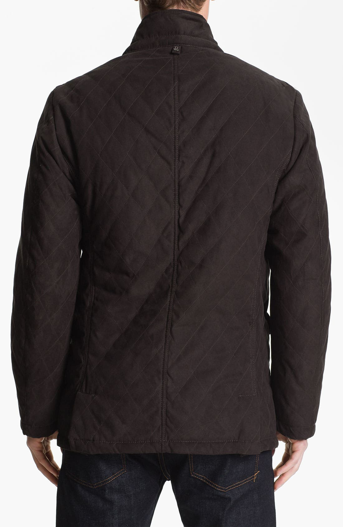 Alternate Image 2  - Allegri 'City Caban' Water Repellent Quilted Jacket