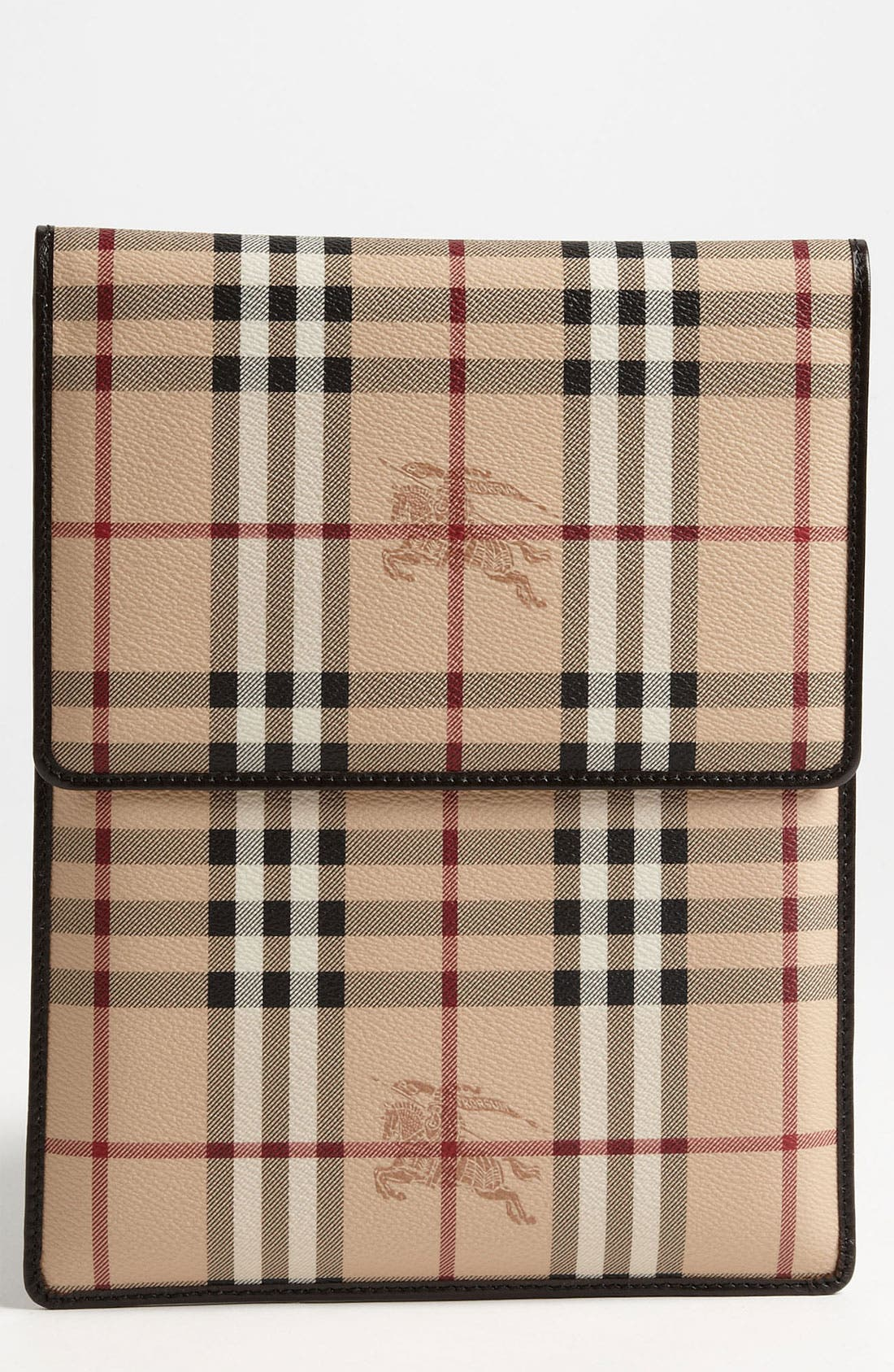Alternate Image 1 Selected - Burberry 'Haymarket Check' iPad Sleeve