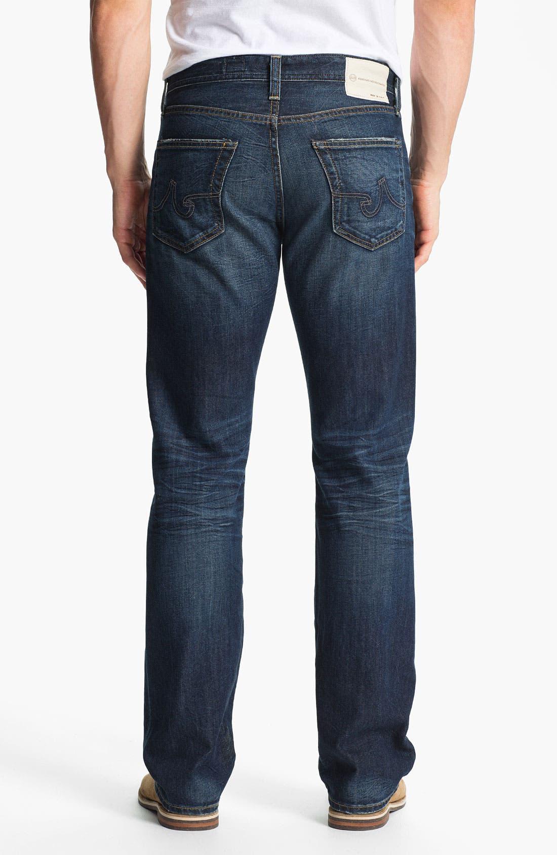 Alternate Image 2  - AG Jeans 'Protégé' Straight Leg Jeans (8-Year Lounge)